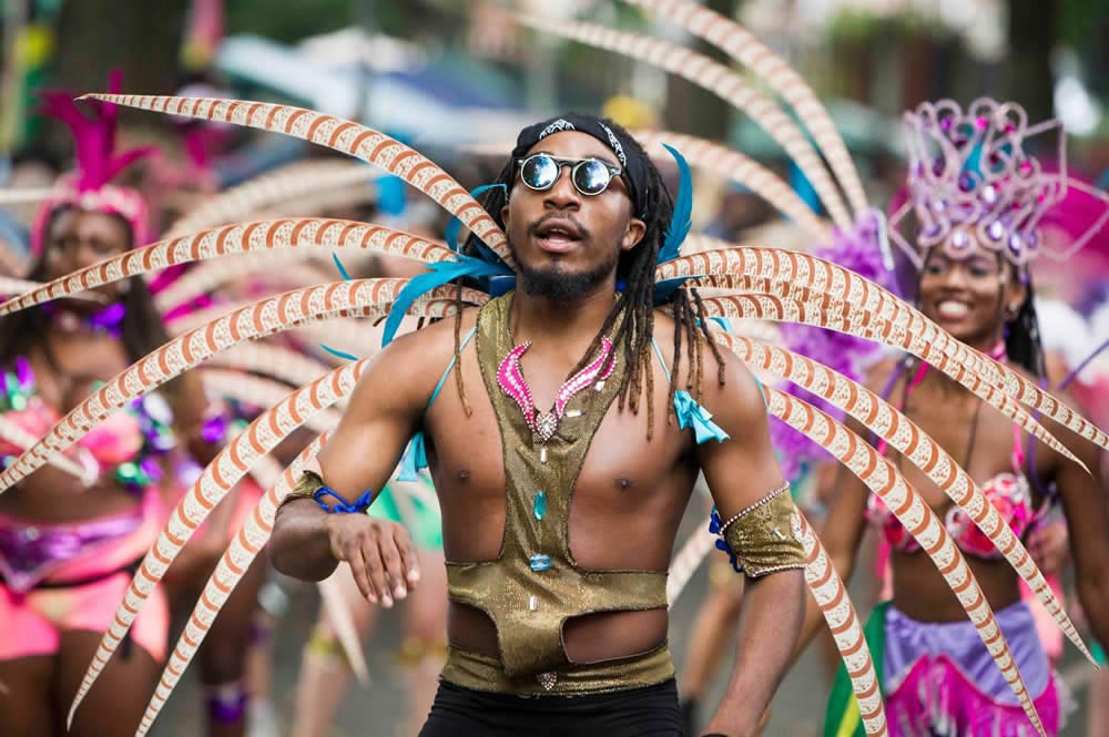 Carnival performer at Leeds West Indian Carnival  © Leeds Live (photo by Chris Bull)